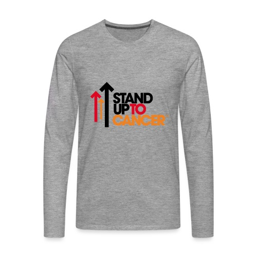 stand up to cancer logo - Men's Premium Longsleeve Shirt