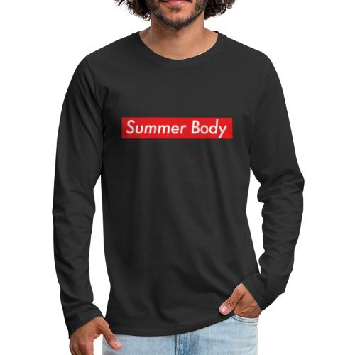 Summer Body - T-shirt manches longues Premium Homme
