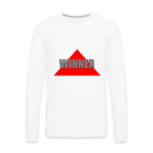 Winner, by SBDesigns - T-shirt manches longues Premium Homme