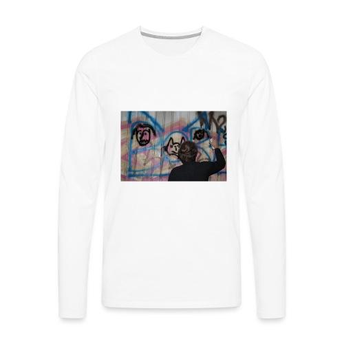 fox1 - T-shirt manches longues Premium Homme