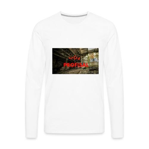 profisal - Koszulka męska Premium z długim rękawem