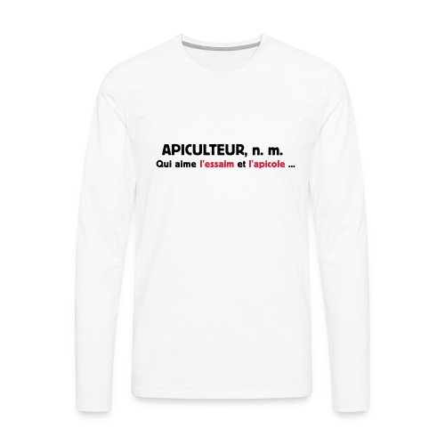 essaim - T-shirt manches longues Premium Homme