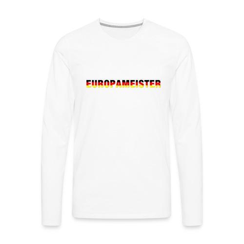 Europameister - Männer Premium Langarmshirt