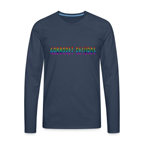 gabbaretr png - Mannen Premium shirt met lange mouwen
