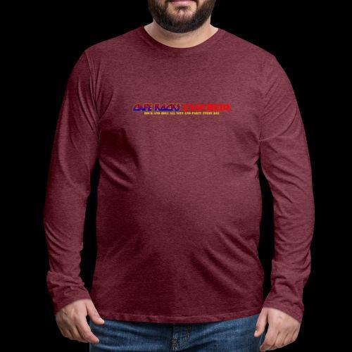 RNR All Nite - Mannen Premium shirt met lange mouwen