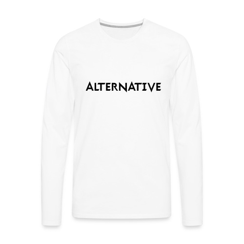 Im Hoodie White - Koszulka męska Premium z długim rękawem