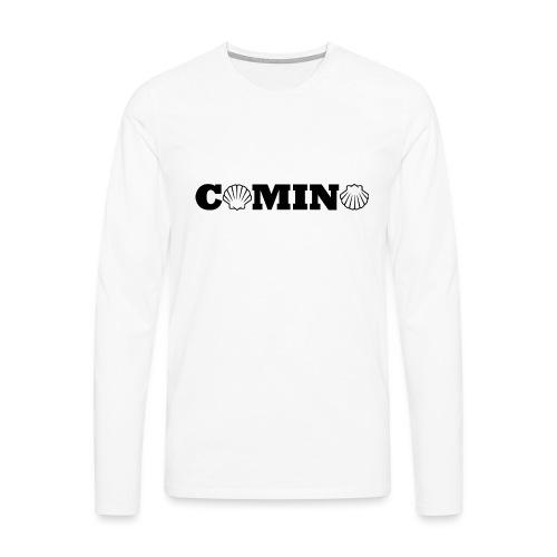Camino - Herre premium T-shirt med lange ærmer