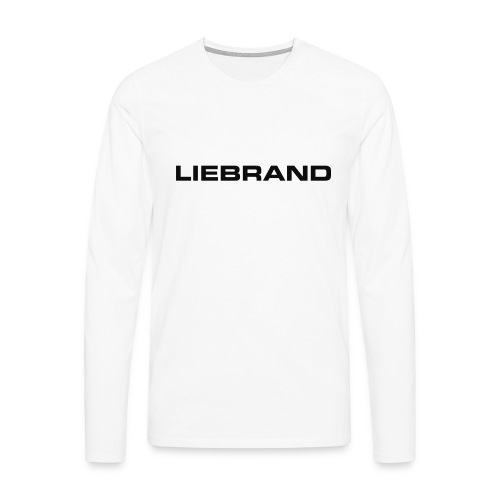 liebrand - Mannen Premium shirt met lange mouwen