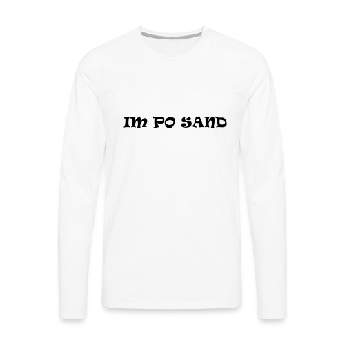 IM PO SAND Unterwäsche - Männer Premium Langarmshirt