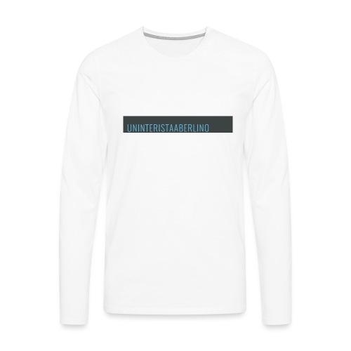 blogge-png - Maglietta Premium a manica lunga da uomo
