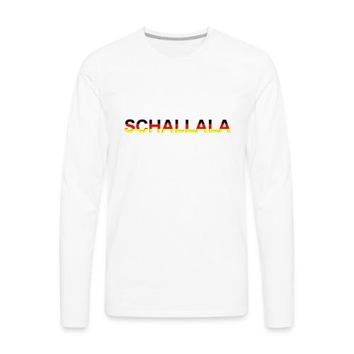 Schallala - Männer Premium Langarmshirt