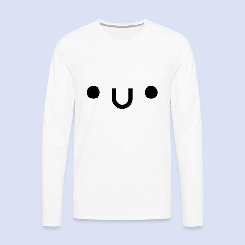 •u• - T-shirt manches longues Premium Homme