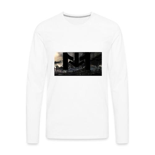 Mousta Zombie - T-shirt manches longues Premium Homme