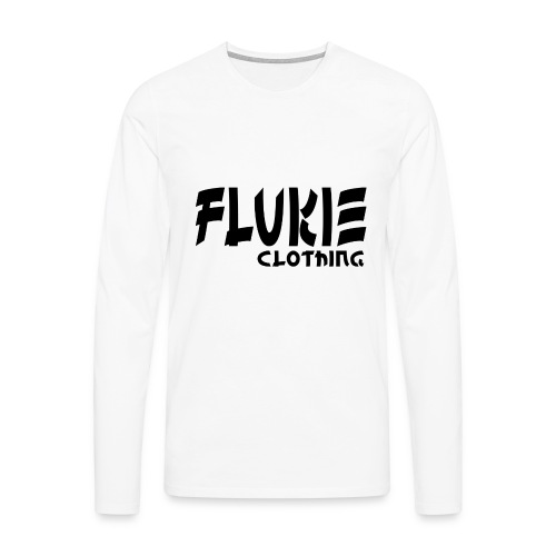 Flukie Clothing Japan Sharp Style - Men's Premium Longsleeve Shirt