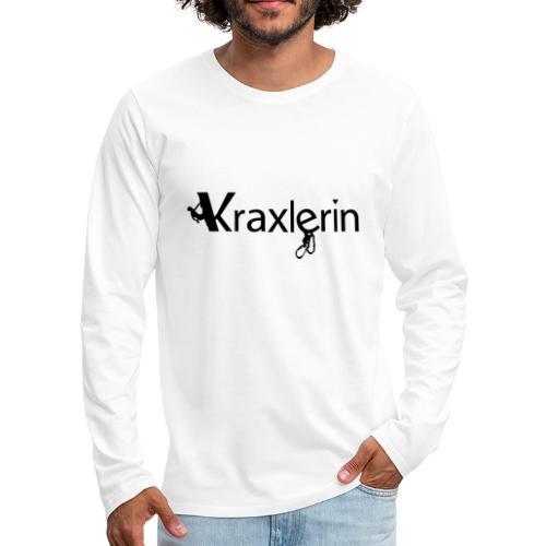 Kraxlerin - Männer Premium Langarmshirt