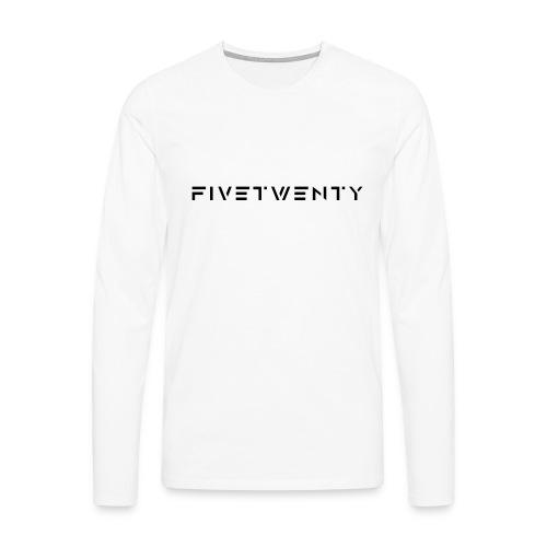 fivetwenty logo test - Långärmad premium-T-shirt herr