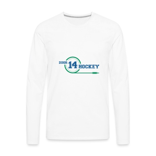 D14 HOCKEY LOGO - Men's Premium Longsleeve Shirt