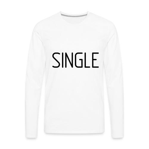 Single - Männer Premium Langarmshirt