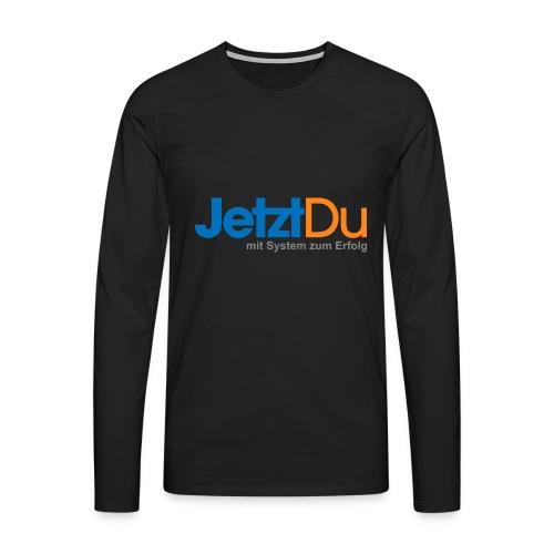JetztDuLogo ArtWork1 - Männer Premium Langarmshirt