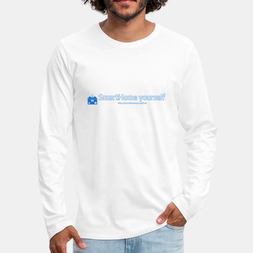 SmarthomeYourself Logo - Männer Premium Langarmshirt