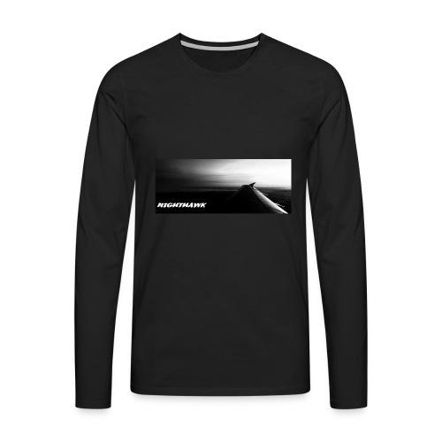 Nighthawk - Männer Premium Langarmshirt