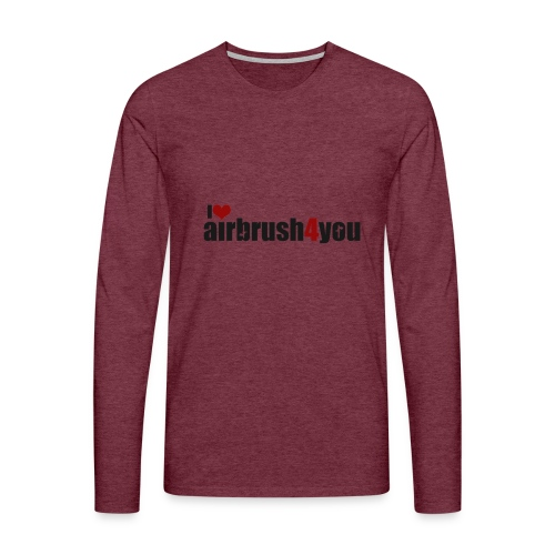 I Love airbrush4you - Männer Premium Langarmshirt
