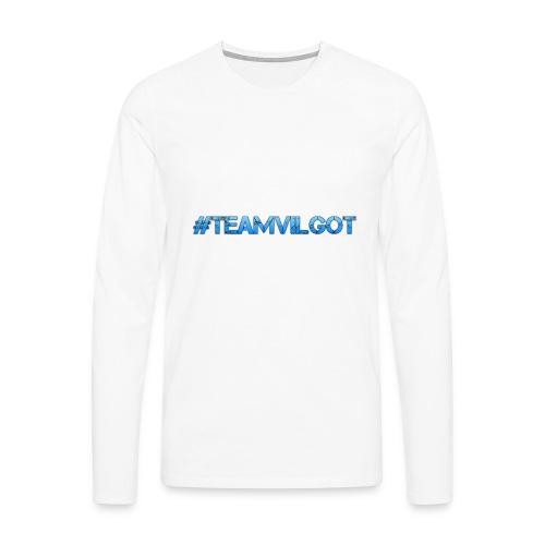 teamvilgot - Långärmad premium-T-shirt herr