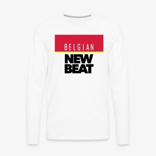 BNB SQ - Mannen Premium shirt met lange mouwen