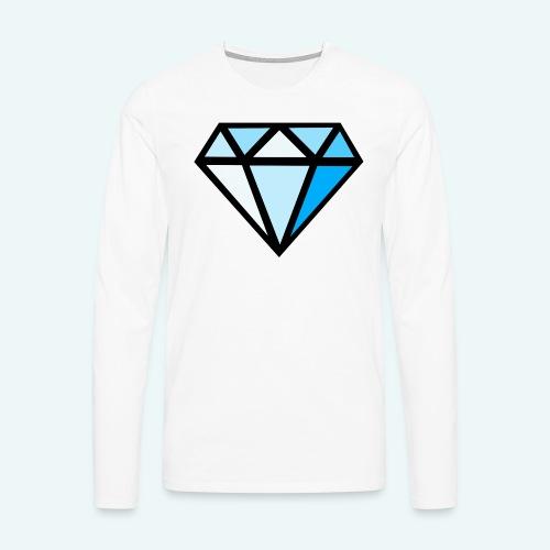 FCTimantti logo ilman tekstia - Miesten premium pitkähihainen t-paita