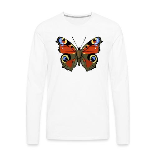 vlinder1_d - Mannen Premium shirt met lange mouwen
