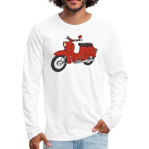 Schwalbe (ibizarot) - Männer Premium Langarmshirt