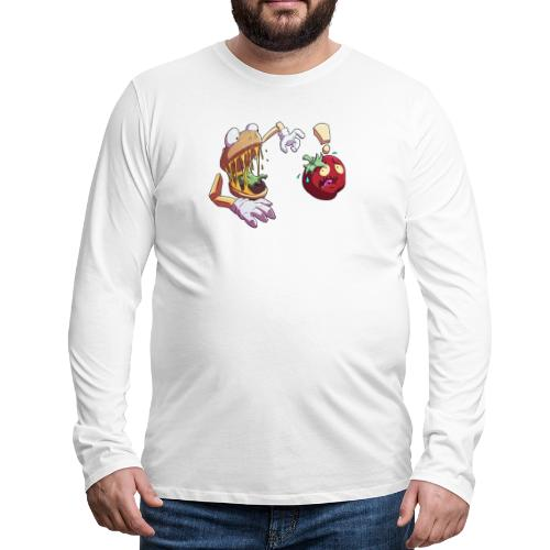 Tomato Chase - Långärmad premium-T-shirt herr