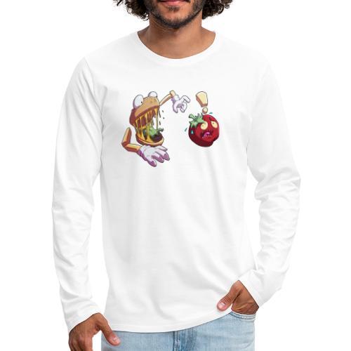 Tomato Chase - Twitch Back - Långärmad premium-T-shirt herr