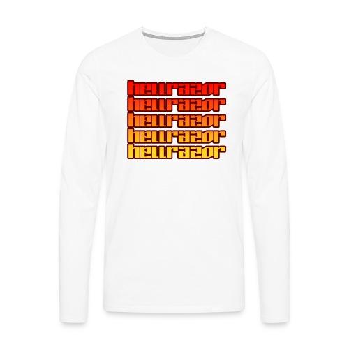 Hellrazor MK3 - Maglietta Premium a manica lunga da uomo