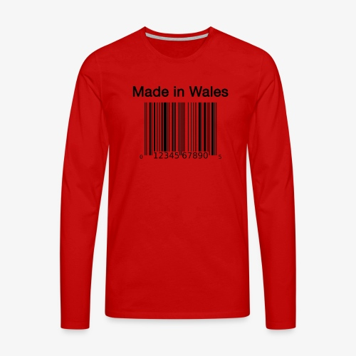 Made in Wales - Men's Premium Longsleeve Shirt