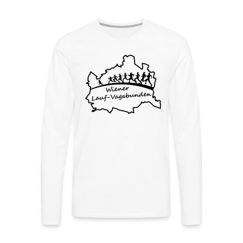 Laufvagabunden T Shirt - Männer Premium Langarmshirt