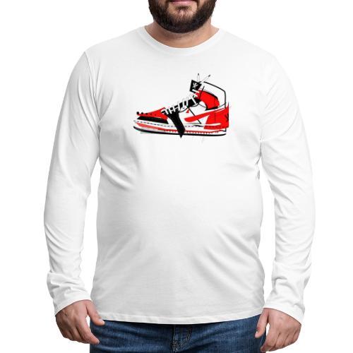 Destrukt my Shoes by MiZAl Touch Concept - Koszulka męska Premium z długim rękawem