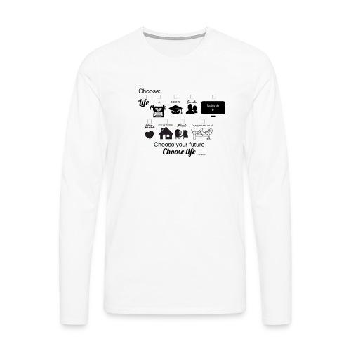 trainspotting - Camiseta de manga larga premium hombre