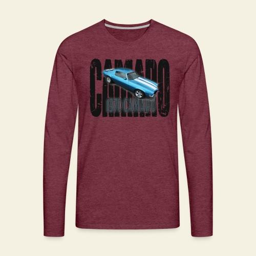 70 Camaro - Herre premium T-shirt med lange ærmer