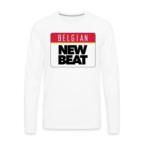 BNB LOGO - Mannen Premium shirt met lange mouwen