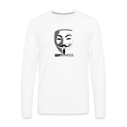 Anonymous - Men's Premium Longsleeve Shirt