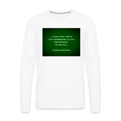 Citazione - Maglietta Premium a manica lunga da uomo