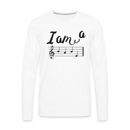 ImABabe - Mannen Premium shirt met lange mouwen