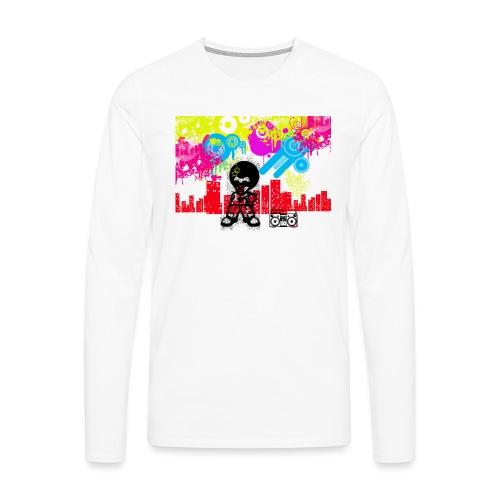 Magliette personalizzate bambini Dancefloor - Maglietta Premium a manica lunga da uomo