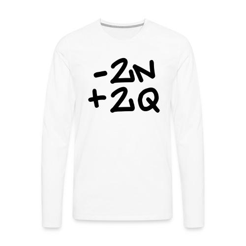 -2n+2q - Men's Premium Longsleeve Shirt