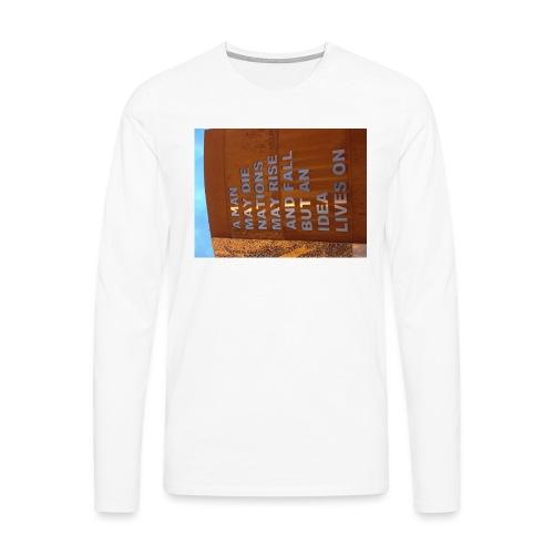 An Idea Lives On - Men's Premium Longsleeve Shirt