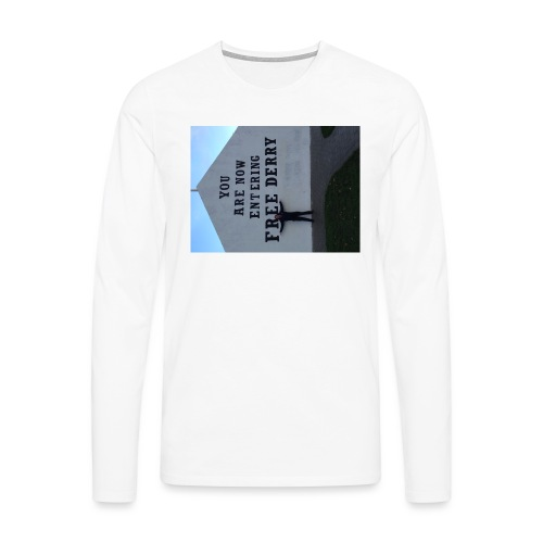 free derry - Men's Premium Longsleeve Shirt