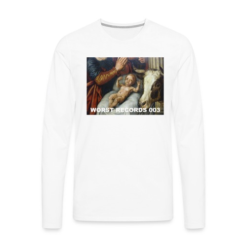 Worst Records 003 - Men's Premium Longsleeve Shirt