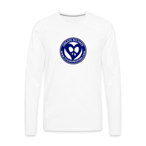 THIS IS THE BLUE CNH LOGO - Men's Premium Longsleeve Shirt