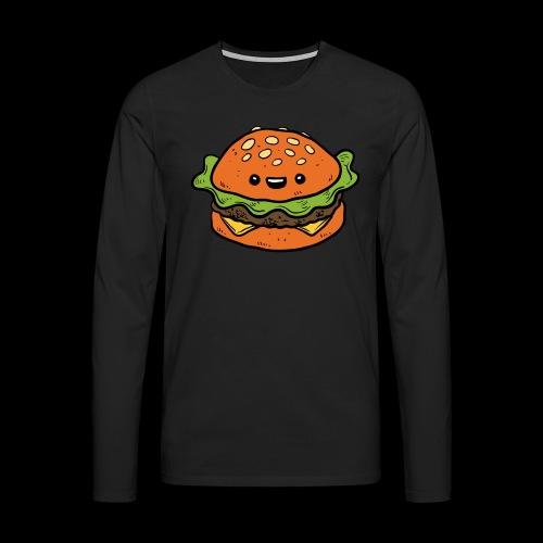 Star Burger - Mannen Premium shirt met lange mouwen